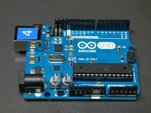 Partes de placa de Arduino