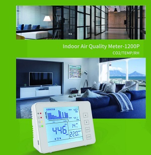 detector co2 kkmoon en casa