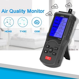probador de calidad del aire