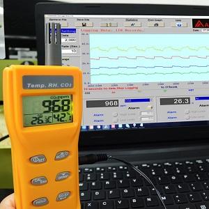 software PC medidor CO2 7755